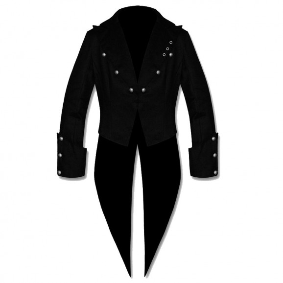 Men Steampunk Goth Victorian Banned Tailcoat Style