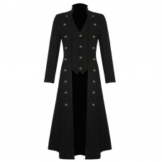 Steampunk Military Victorian Trench Coat