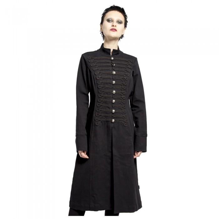 Women Gothic Ultra Band Coat Men Gothic Coat
