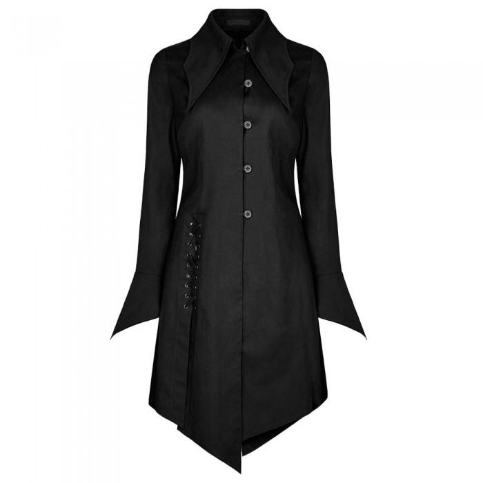 Women Corporate Vampire Shirt Gothic Coats