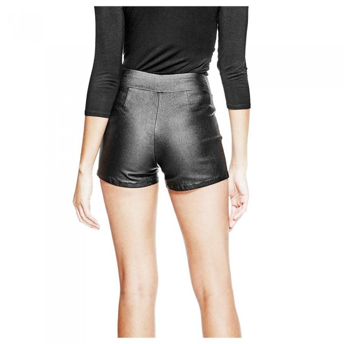Genuine Soft Lambskin Leather Sport Shorts