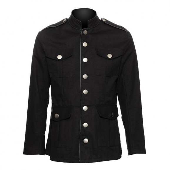 Men Gothic officers jacket for mens