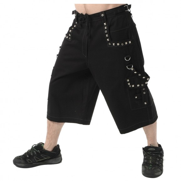 Men Metal Short With Pyramids
