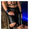 Club Leather Kilt For Men