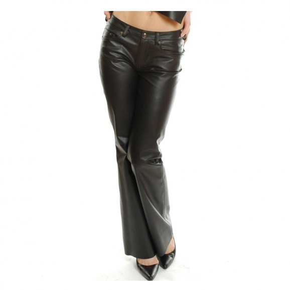 Women Fashion Leather Club Wear Pants