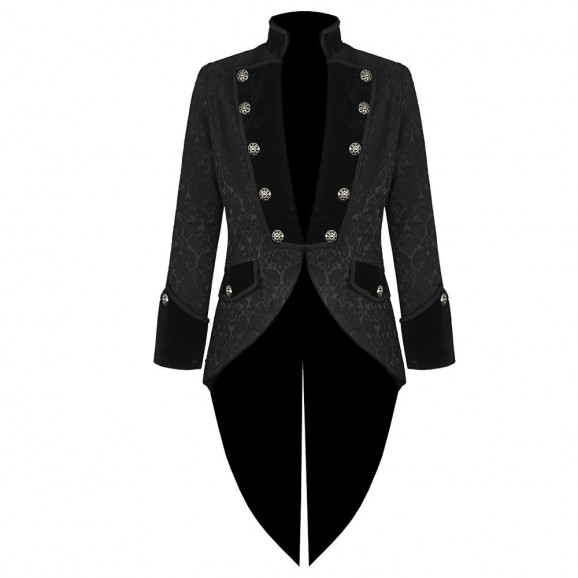 Pentagramme Vladimir Black Swallow Tailcoat