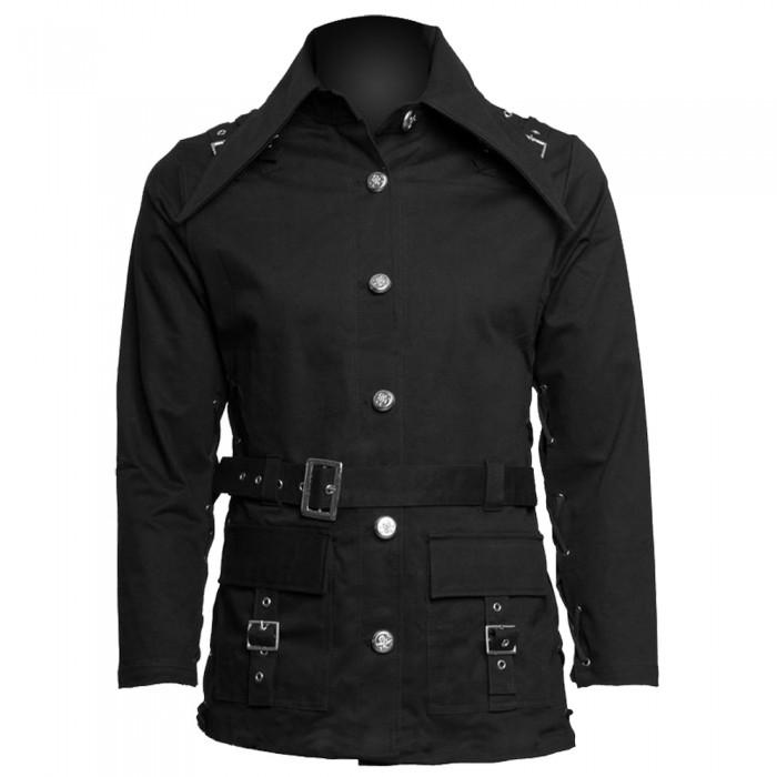 Women Gothic Black Coat