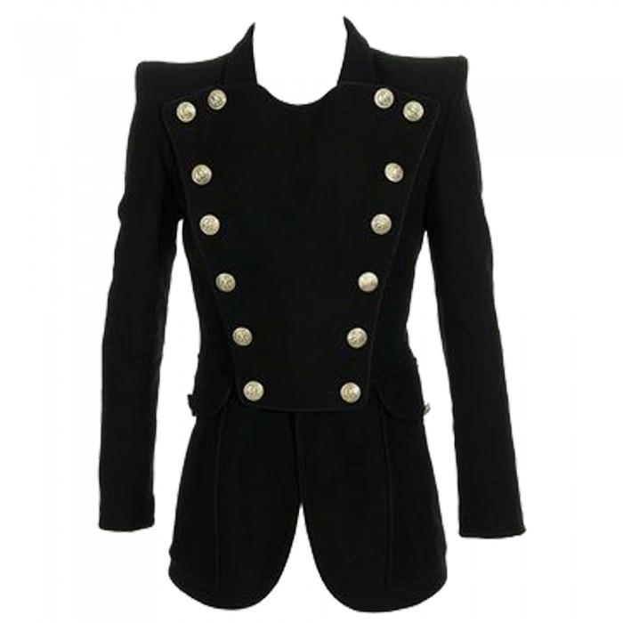 Women Black Gothic Coat | Gothic Womens Clothing