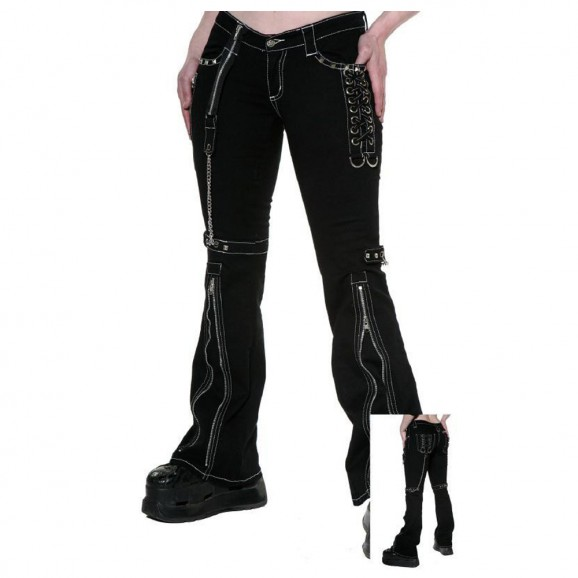 Black Gothic Pant for Men