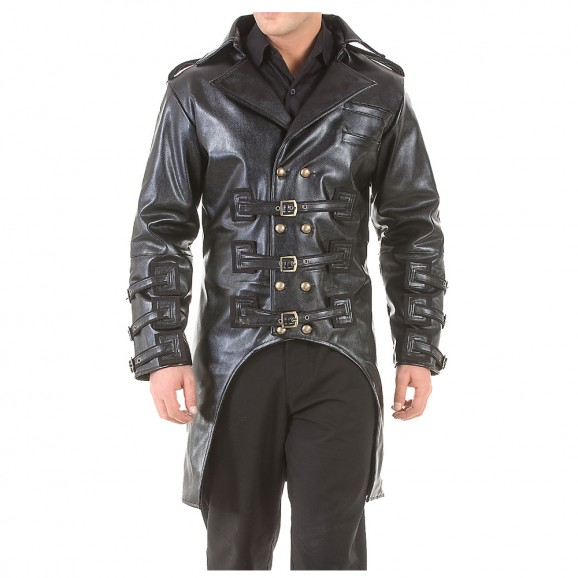 Post Apocalyptic Steampunk Jacket Gothic Costume Trench Coat