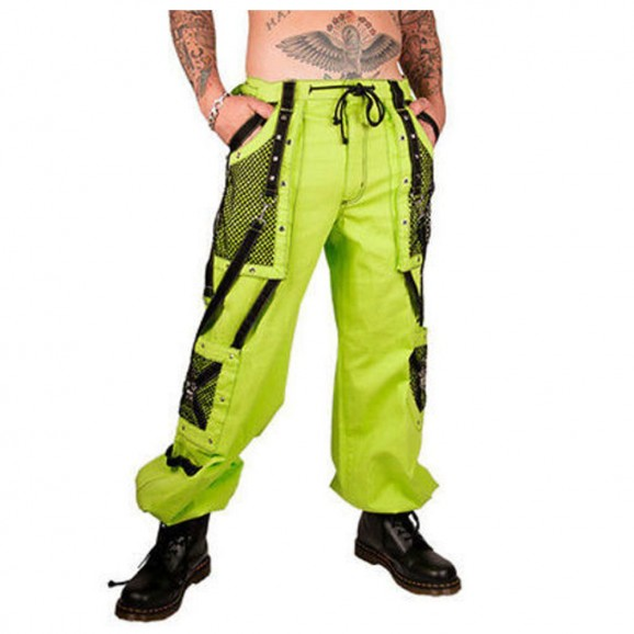 Men Bondage Techno Cyber Trouser Industrial Gothic Punk Pant
