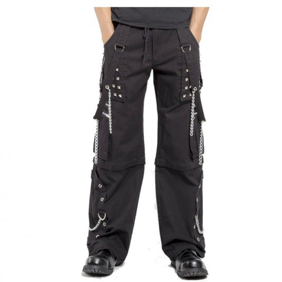 Men Gothic Pant Punk Rock Bondage Pant Shorts