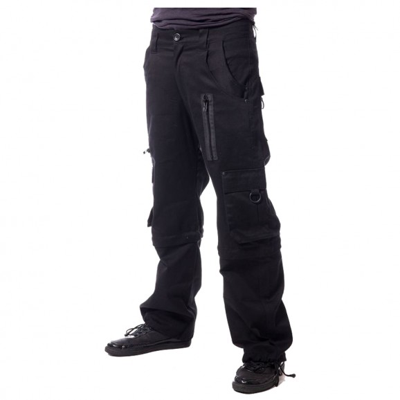 Men Gothic Black EMO Cotton Pant