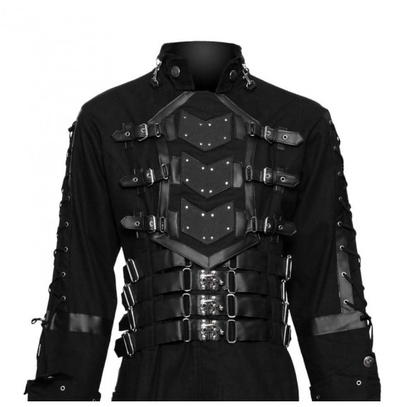 Hellraiser Dark Goth Coat