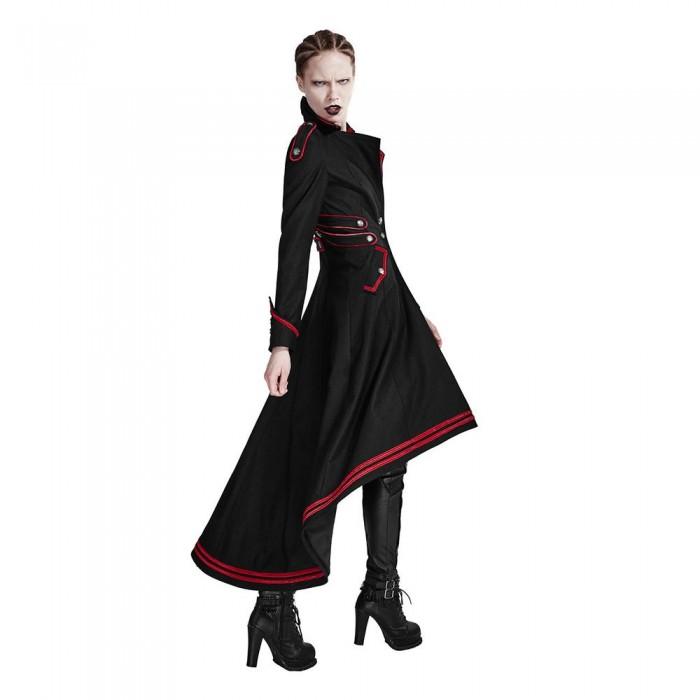 Steampunk Military Women Gothic Long Coat